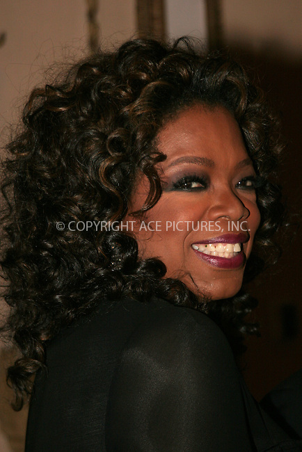 WWW.ACEPIXS.COM . . . . . ....May 20 2007, New York City....Humanitarian Award winner Oprah Winfrey attends The Elie Wiesel Foundation for Humanity Award Dinner at the Waldorf-Astoria hotel in Midtown Manhattan.....Please byline: NANCY RIVERA- ACE PICTURES.... *** ***..Ace Pictures, Inc:  ..tel: (646) 769 0430..e-mail: info@acepixs.com..web: http://www.acepixs.com