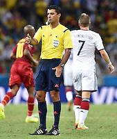 FUSSBALL WM 2014  VORRUNDE    GRUPPE G     Deutschland - Ghana                 21.06.2014 Schiedsrichter Sandro Ricci