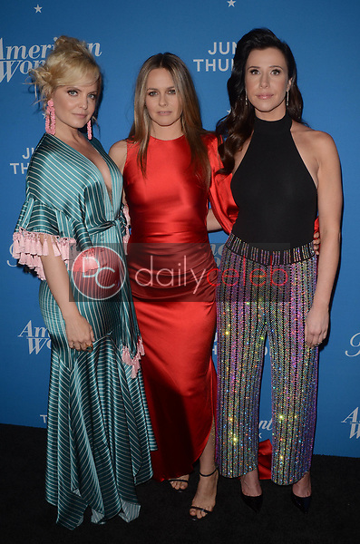 "Mena Suvari, Alicia Silverstone, Jennifer Bartels<br /> at the ""American Woman"" Premiere Party, Chateau Marmont, Los Angeles, CA 05-31-18<br /> David Edwards/DailyCeleb.com 818-249-4998"