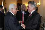 Palestinian president Mahmud Abbas meets with the Austrian President, Heinz Fischer on June 2, 2011 in Rome. Photo by Thaer Ganaim