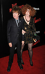 HOLLYWOOD, CA. - March 11: Rodney Bingenheimer (L) and guest arrive at the Los Angeles Premiere of The Runaways at ArcLight Cinemas Cinerama Dome on March 11, 2010 in Hollywood, California.