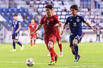 Do Duy Manh of Vietnam in action during the AFC Asian Cup UAE 2019 Quarter Finals match between Vietnam (VIE) and Japan (JPN) at Al Maktoum Stadium on 24 January 2019 in Dubai, United Arab Emirates. Photo by Marcio Rodrigo Machado / Power Sport Images