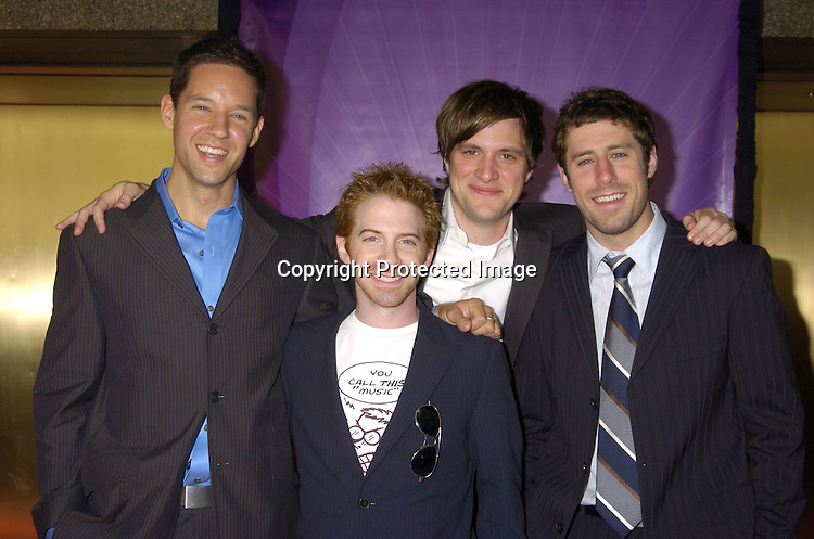 Cast of Four KIngs ..at The NBC Universal Upfront announcement of their new Fall Schedule on May 16, 2005 at Radio City Music Hall. ..Photo by Robin Platzer, Twin Images