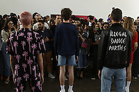 SAO PAULO, SP, 28.10.2016 - SPFW-COTTON PROJECT  - Modelo durante desfile da grife Cotton Project, durante o São Paulo Fashion Week edição 42 na Baró Galeria, na tarde desta sexta-feira, 28 (Foto: Adriana Spaca/Brazil Photo Press)