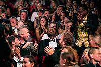 UTRECHT- Gala Gouden Kalveren. Nederlands Film Festival. NFF. Beste Film Paradise Suite. Beste acteur Issaka Sawadogo. Beste actrice Hanna Hoekstra. FOTO DESIREE SCHIPPERS