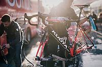 post-race clean<br /> <br /> 109th Milano-Sanremo 2018<br /> Milano &gt; Sanremo (291km)