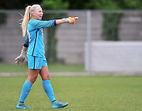 Monfalcone, Italy, April 26, 2016.<br /> USA's goalkeeper Meyer gestures during USA v Iran football match at Gradisca Tournament of Nations (women's tournament). Monfalcone's stadium.<br /> &copy; ph Simone Ferraro / Isiphotos