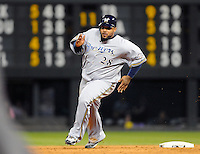19 JUNE 2010: Milwaukee Brewers first baseman Prince Fielder (28) during a regular season Major League Baseball game between the Colorado Rockies and the Milwaukee Brewers at Coors Field in Denver, Colorado.   The Rockies beat the Brewers 8-7. *****For Editorial Use Only*****