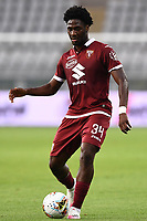 Ola Aina of Torino FC during the Serie A football match between Torino FC and SS Lazio at stadio Olimpico in Turin ( Italy ), June 30th, 2020. Play resumes behind closed doors following the outbreak of the coronavirus disease. <br /> Photo Image Sport / Insidefoto