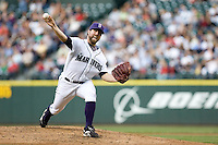 July 5, 2008:  The Seattle Mariners' R.A. Dickey gets the starting nod against the Detroit Tigers at Safeco Field in Seattle, Washington.