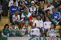 SAO PAULO, SP 12 JULHO 2013 - PALMEIRAS X ABC - RN - Torcedores aguardam início da partida de Palmeiras x ABC - RN, no Estádio do Pacaembú, em São Paulo.