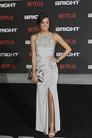 www.acepixs.com<br /> <br /> December 15 2017, London<br /> <br /> Tyla Carr arriving at the European premiere of  'Bright' on December 15, 2017 at the BFI Southbank, in London.<br /> <br /> By Line: Famous/ACE Pictures<br /> <br /> <br /> ACE Pictures Inc<br /> Tel: 6467670430<br /> Email: info@acepixs.com<br /> www.acepixs.com