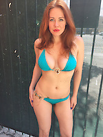 Maitland Ward<br /> trying out her first bikini of 2015 on a warm Santa Monica Saturday, Private Location, Santa Monica, CA 05-30-15<br /> David Edwards/Dailyceleb.com 818-249-4998