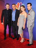 NEW YORK CITY, NY, USA - MAY 12: Jesse Lee Soffer, Jason Beghe, Sophia Bush, Jon Seda at the 2014 NBC Upfront Presentation held at the Jacob K. Javits Convention Center on May 12, 2014 in New York City, New York, United States. (Photo by Celebrity Monitor)