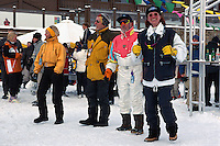 Apres-Ski, Giggijoch-Hütte, Sölden in Tirol, Österreich