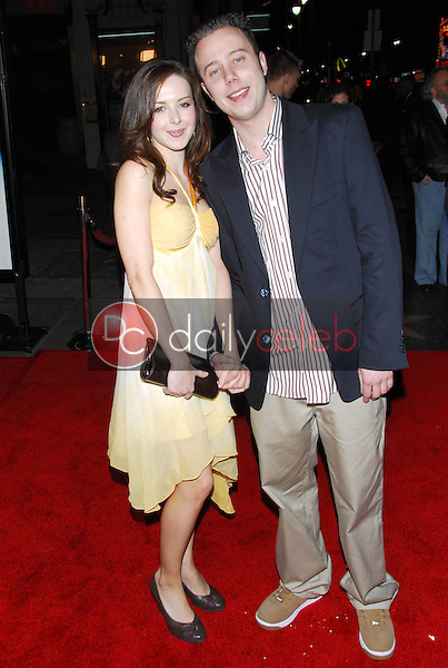 """Sam Easton and friend<br />at the premiere of """"Final Destination 3"""". Grauman's Chinese Theatre, Hollywood, CA 02-01-06<br />Dave Edwards/DailyCeleb.com 818-249-4998"""