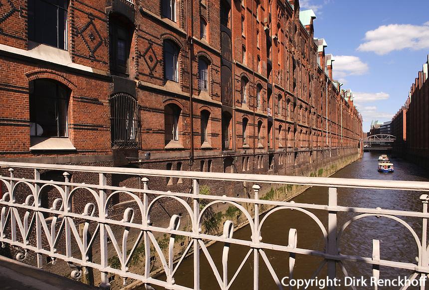 In der Speicherstadt, Hamburg, Deutschland