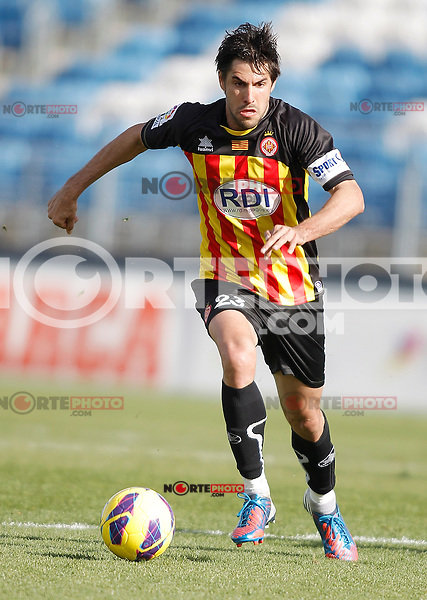 Girona's Luis Delgado Luso during La Liga match. January 13, 2013. (ALTERPHOTOS/Alvaro Hernandez)