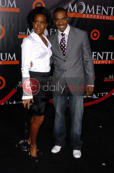 Kelly Rowland and Duane Martin<br />