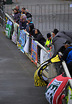 Fans watch the 2019 Collier Trophy Under-13 Girls' Hockey Tournament match between Bay Of Plenty and Marlborough at National Hockey Stadium in Wellington, New Zealand on Friday, 9 October 2019. Photo: Dave Lintott / lintottphoto.co.nz