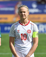 20200304  Parchal , Portugal : Danish forward Pernille Harder (10) pictured during the female football game between the national teams of Denmark and Norway on the first matchday of the Algarve Cup 2020 , a prestigious friendly womensoccer tournament in Portugal , on wednesday 4 th March 2020 in Parchal , Portugal . PHOTO SPORTPIX.BE | DAVID CATRY