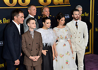 "LOS ANGELES, USA. November 15, 2019: Michael Shannon, Jaeden Martell, Katherine Langford, Daniel Craig, Ana de Armas, Don Johnson, Chris Evans & Jamie Lee Curtis at the premiere of ""Knives Out"" at the Regency Village Theatre.<br /> Picture: Paul Smith/Featureflash"