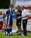 Millwall manager Kenny Jackett gives advice to new signing Steve Morison during the pre-season friendly match between Stevenage Borough &  Millwall at  the Lamex Stadium, Stevenage on 25th July, 2009..Photograph: Kevin Coleman .......................................................Alan Julian of GillinghamAlan Julian of Gillingham............................ during the Wembley Cup pre-season tournament between Barcelona and Al Ahly at Wembley Stadium, London on 26th July, 2009..Photograph: Kevin Coleman .......................................................Alan Julian of GillinghamAlan Julian of Gillingham............................
