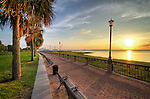 Charleston Waterfront Park Sunrise