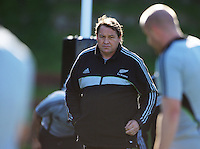 All Blacks forwards coach Steve Hansen. All Blacks Training Session at Rugby League Park, Newtown, Wellington. Thursday 17 September 2009. Photo: Dave Lintott/lintottphoto.co.nz