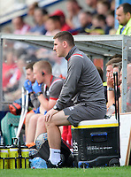 Lincoln City's lead sports scientist Luke Jelly<br /> <br /> Photographer Chris Vaughan/CameraSport<br /> <br /> Football Pre-Season Friendly (Community Festival of Lincolnshire) - Lincoln City v Lincoln United - Saturday 6th July 2019 - The Martin & Co Arena - Gainsborough<br /> <br /> World Copyright © 2018 CameraSport. All rights reserved. 43 Linden Ave. Countesthorpe. Leicester. England. LE8 5PG - Tel: +44 (0) 116 277 4147 - admin@camerasport.com - www.camerasport.com