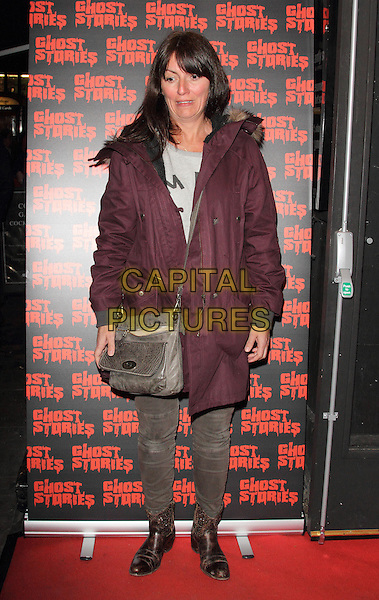 LONDON, ENGLAND - FEBRUARY 27:  Davina McCall attends the 'Ghost Stories' Press Night at the Arts Theatre on February 27, 2014 in London, England.<br /> CAP/ROS<br /> &copy;Steve Ross/Capital Pictures