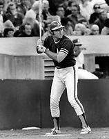 Oakland A's Deron Johnson, (1973 photo/Ron Riesterer)