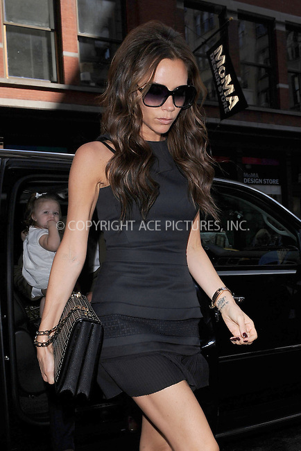 WWW.ACEPIXS.COM . . . . . .September 9, 2012...New York City.... The Beckham family goes to lunch at Balthazar on September 9, 2012 in New York City. ....Please byline: KRISTIN CALLAHAN - WWW.ACEPIXS.COM.. . . . . . ..Ace Pictures, Inc: ..tel: (212) 243 8787 or (646) 769 0430..e-mail: info@acepixs.com..web: http://www.acepixs.com .