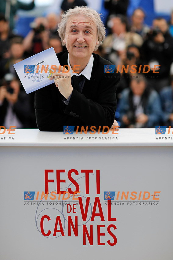 Plantu .Cannes 20/5/2013 .Festival del Cinema di Cannes .Foto Panoramic / Insidefoto .ITALY ONLY