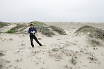 Sandi Matsumoto On Survey Of Orond Beach Dune
