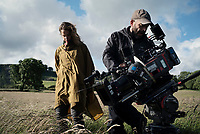 Behind the scenes photo of Ruth Wilson<br /> Dark River (2017) <br /> *Filmstill - Editorial Use Only*<br /> CAP/RFS<br /> Image supplied by Capital Pictures