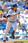 13 March 2007: Detroit Tigers outfielder Magglio Ordonez in action against the Los Angeles Dodgers at Holman Stadium in Vero Beach, Florida.<br /> <br /> Mandatory Photo Credit: Ed Wolfstein Photo