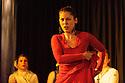"Edinburgh, UK. 02.08.2016. Alba Flamenca presents the self-titled show, ""Alba Flamenca"", as part of the Edinburgh Festival Fringe.  Picture shows: Gabriela Pouso. Photograph © Jane Hobson."