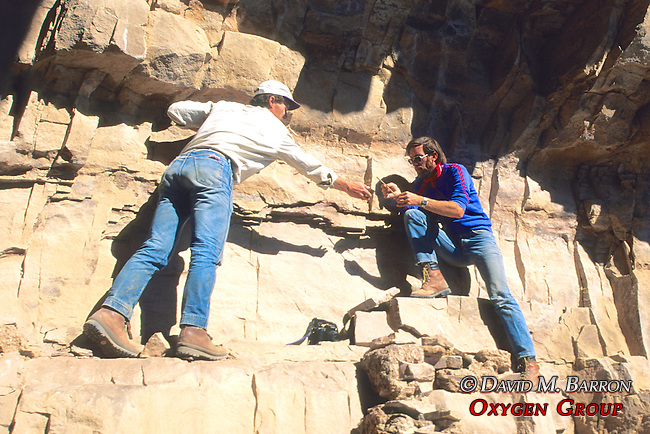John Welch, Richard Lang On Cliff Dwelling