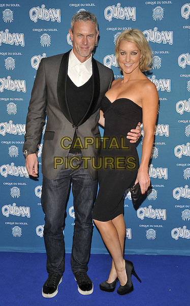 LONDON, ENGLAND - JANUARY 07: Mark Foster &amp; Natalie Lowe attend the &quot;Cirque du Soleil: Quidam&quot; VIP press night, Royal Albert Hall, Kensington Gore, on Tuesday January 07, 2014 in London, England, UK.<br /> CAP/CAN<br /> &copy;Can Nguyen/Capital Pictures