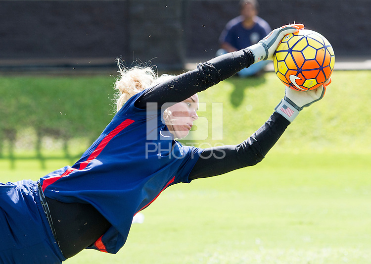 Honolulu, HI - December 6, 2015:  The USWNT trained in preparation for the USWNT Victory Tour.
