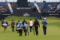 James Sugrue (IRL)(AM) walking up the 18th during the preview of the the 148th Open Championship, Portrush golf club, Portrush, Antrim, Northern Ireland. 17/07/2019.<br /> Picture Thos Caffrey / Golffile.ie<br /> <br /> All photo usage must carry mandatory copyright credit (© Golffile | Thos Caffrey)