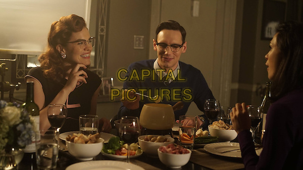 Gotham (2014&ndash; ) <br /> (Season 2, Episode 5, &quot;Scarification&quot;)<br /> Chelsea Spack as Kristen Kringle and Cory Michael Smith as Edward Nygma (Future Riddler)<br /> *Filmstill - Editorial Use Only*<br /> CAP/KFS<br /> Image supplied by Capital Pictures