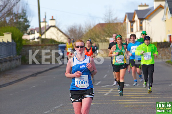 1061 Cheryl Carmody who took part in the Kerry's Eye, Tralee International Marathon on Saturday March 16th 2013.