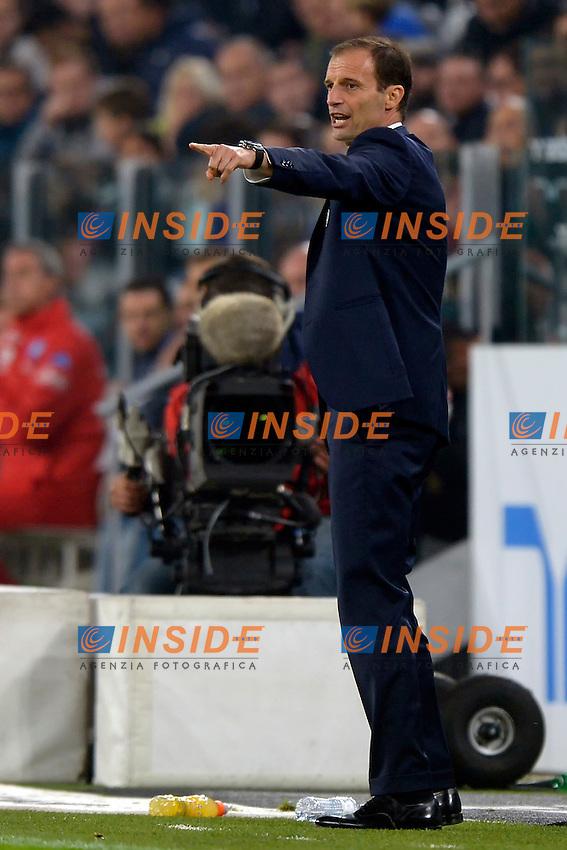 Massimiliano Allegri Juventus <br /> Torino 29-10-2016 Juventus Stadium Football Calcio Serie A 2016/2017 Juventus - Napoli . Foto Filippo Alfero Insidefoto