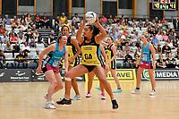 Pulse' Tiana Metuarau in action during the  Preseason Tournament - Pulse v Steel at Ngā Purapura, Otaki, New Zealand on Sunday 10 February  2019. <br /> Photo by Masanori Udagawa. <br /> www.photowellington.photoshelter.com