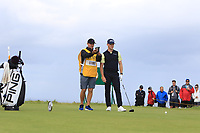 Brandon Stone (RSA) during 1st round of the 148th Open Championship, Royal Portrush golf club, Portrush, Antrim, Northern Ireland. 18/07/2019.<br /> Picture Thos Caffrey / Golffile.ie<br /> <br /> All photo usage must carry mandatory copyright credit (© Golffile | Thos Caffrey)