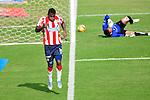 Barranquilla- Junior venció 1 gol por 0 a Equidad Seguros,  en el partido correspondiente a la fecha 13 del torneo Clausura 2014, desarrollado en el estadio Metropolitano Roberto Meléndez, el 5 de octubre. Yorleys Mena anotó para Junior en el minuto 15.