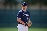 Garrett Casey during the WWBA World Championship at the Roger Dean Complex on October 18, 2018 in Jupiter, Florida.  Garrett Casey is a left handed pitcher from Lagrange, Georgia who attends Troup County High School and is committed to William & Mary.  (Mike Janes/Four Seam Images)