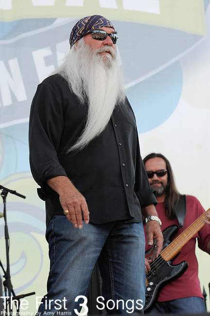 The Oak Ridge Boys perform at the Riverfront Stage during the 2012 CMA Music Festival in Nashville, Tennessee.